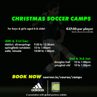 Coerver Christmas Camps