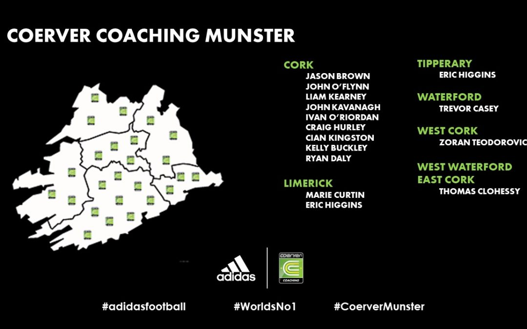 Coerver Coaching Munster Squad 2020